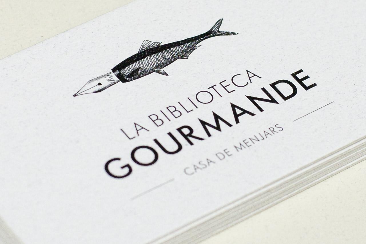 La Biblioteca Gourmenade | Identity