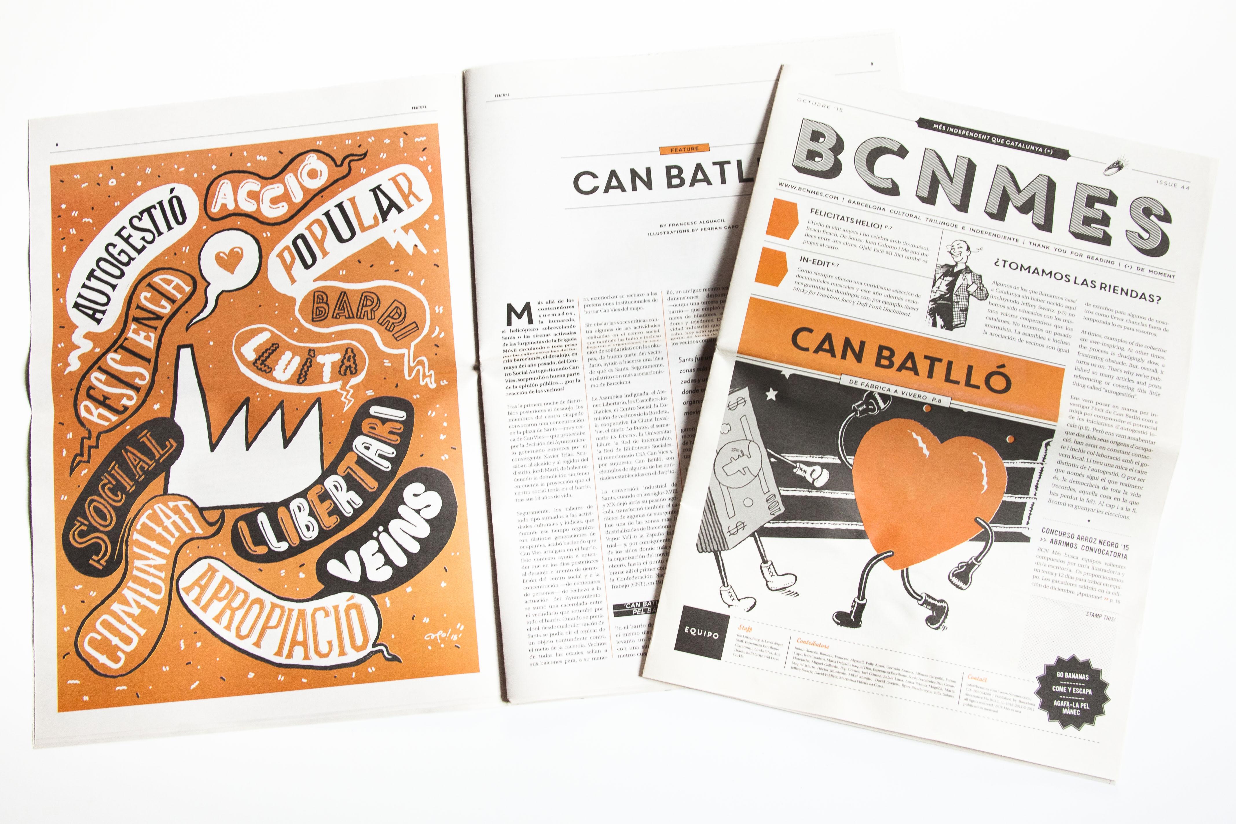 Studio Capo › Bcn Mes Magazine | Editorial Illustration